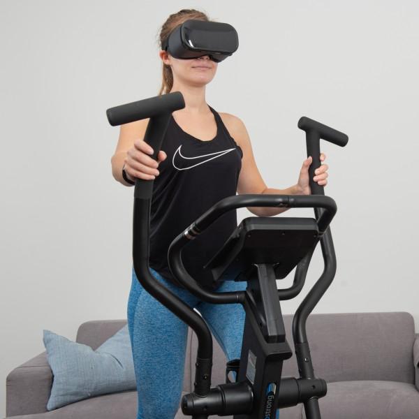 Vélo elliptique cardiostrong EX60 avec casque VR