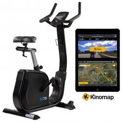 Vélo d'appartement cardiostrong BX70i avec Kinomap