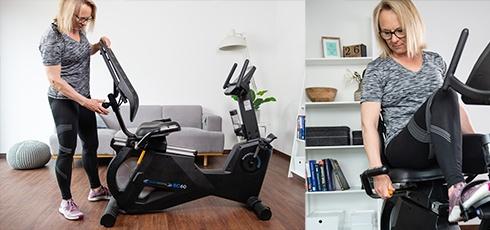 Vélo semi-allongé cardiostrong BC60 Nombreux réglages