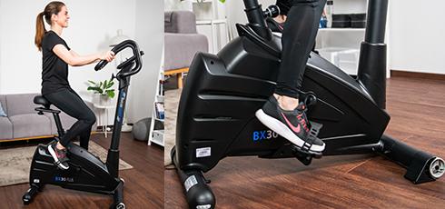 Vélo d'appartement cardiostrong BX30 Plus Utilisation facile