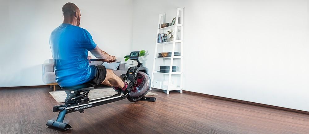 Veslovací trenažer cardiostrong Baltic Rower Pro