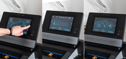 Tapis de course cardiostrong TX70 1 appareil, 3 modes d'affichage