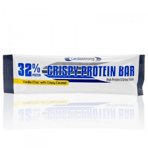 Proteinová tyčinka cardiostring Crispy 32 %