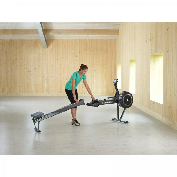 concept2 indoor rower model d pm5 zwart voordelig kopen. Black Bedroom Furniture Sets. Home Design Ideas