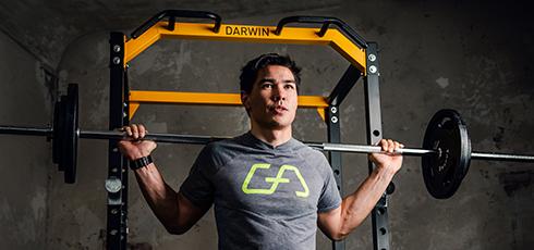 Darwin Power Cage Rozmanitost cvičení tu hraje hlavní roli