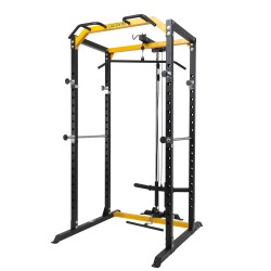 Cage à squat Darwin Power Rack avec poulie