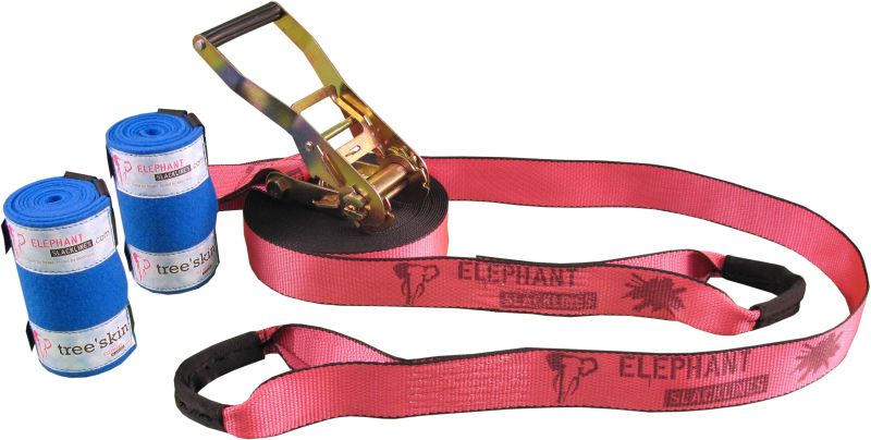 Elephant Slackline Rookie Flashline | 12,5 meter - 50 mm
