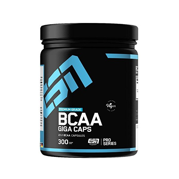 ESN BCAA Giga Caps - voedingssupplement