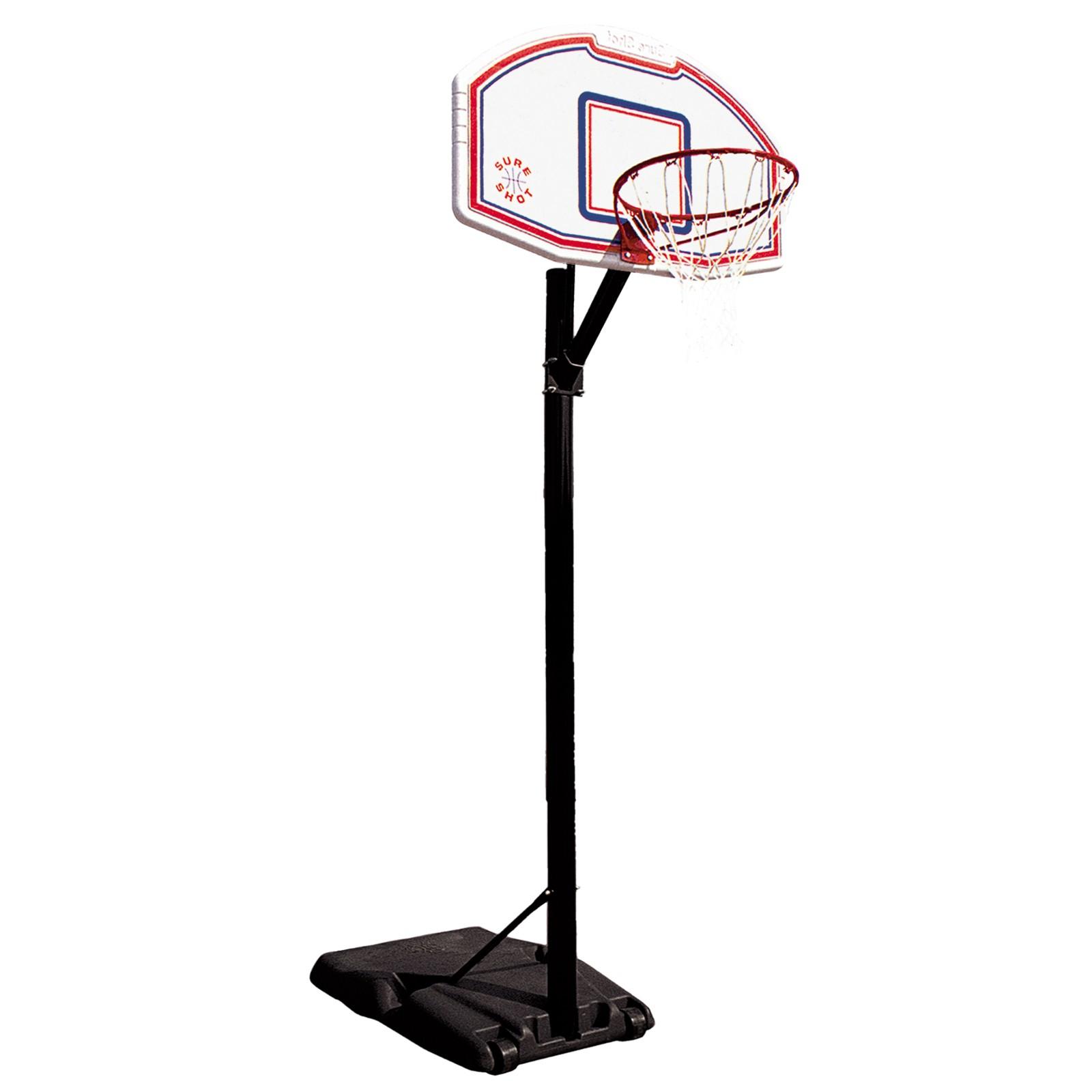 panneau de basket sur pied etan sureshot chicago t fitness. Black Bedroom Furniture Sets. Home Design Ideas