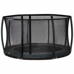 Trampoline de jardin Inground Premium Gold d'Etan avec filet de sécurité