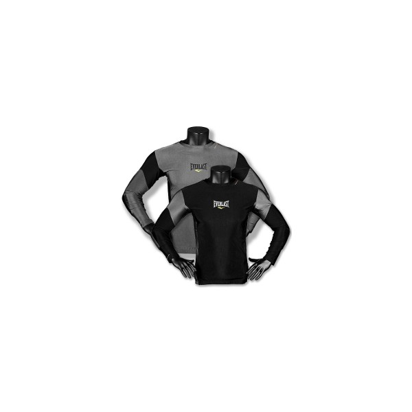 Everlast Men's L/S Rash Guard Contrast Panel