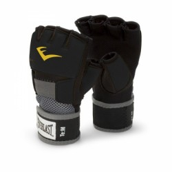 Everlast Evergel Glove Wraps, black, XL