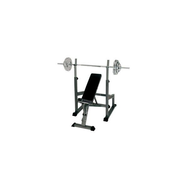 Finnlo by Hammer halterbank incl. Barbell trainingsstation