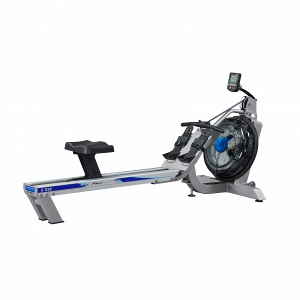 Rameur First Degree Fitness Fluid Rower E316 avec HRC