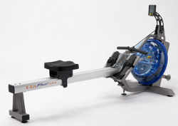 First Degree Fitness roeitrainer Fluid Rower E216s silver