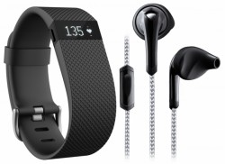 Fitbit Fitness Essential Pack (Fitbit Charge HR + oortje)
