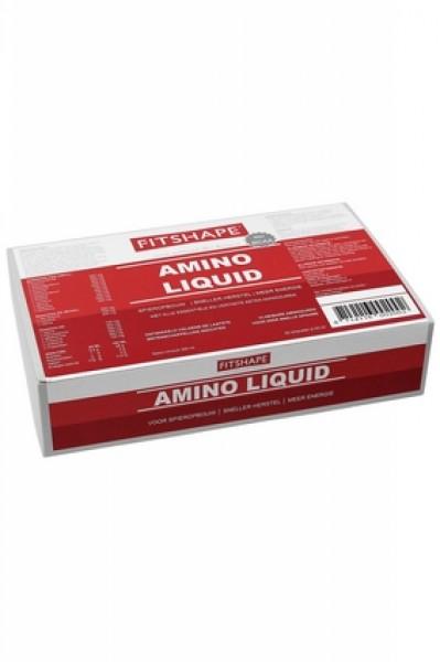 Amino Fitshape Amino Liquid 20 x 25 ml ampullen   Aminozuren