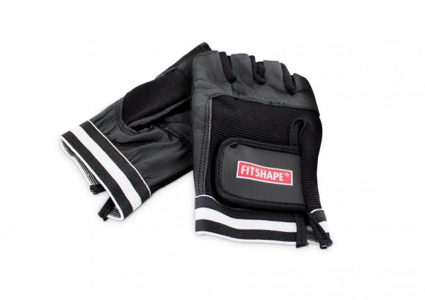 Fitshape Leren fitness handschoenen