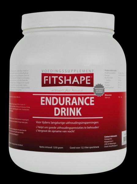 Fitshape Endurance Drink 625 - 1250 gr   Energiedrank