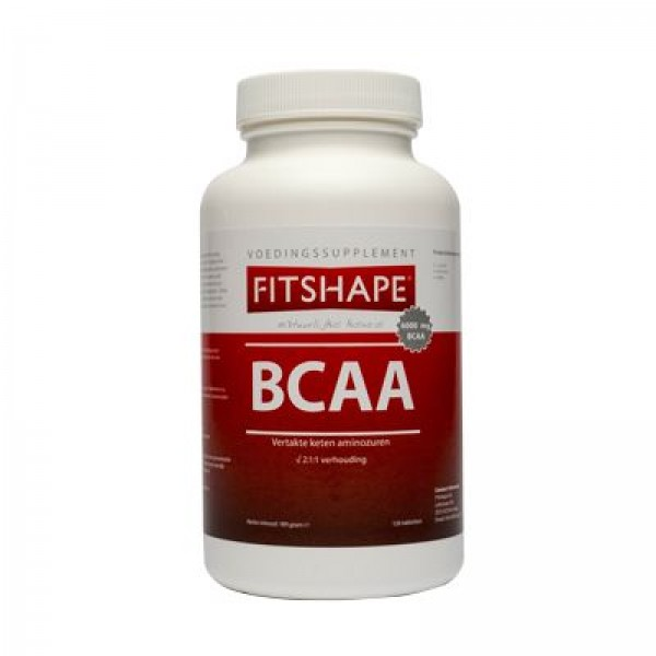 Fitshape BCAA 120 tabletten   BCAA Aminozuren
