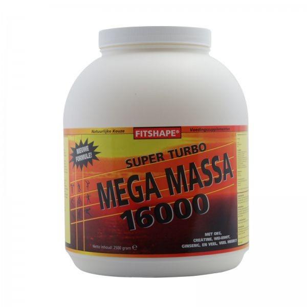 Fitshape Super Mega Massa 16000 2,5kg 2,5 kg