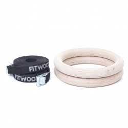 FitWood Gymnastiek Ringen - Turnringen