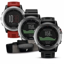 Garmin GPS Multisporthorloge fenix 3 performance bundel HRM-Run