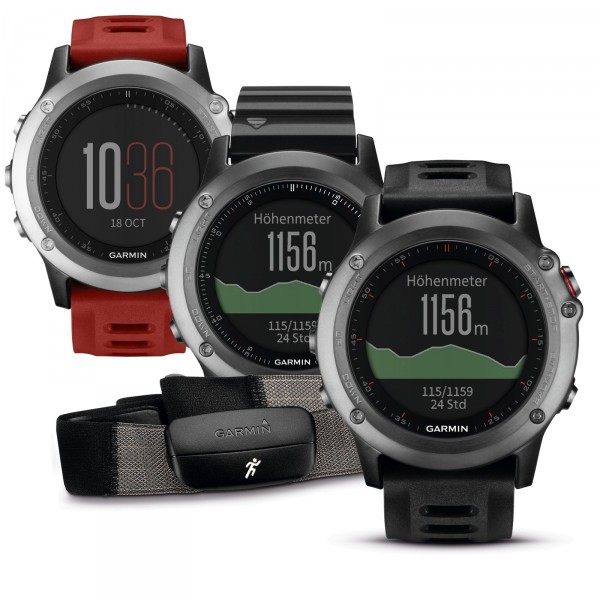 Garmin GPS multi sport watch fenix 3
