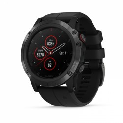 Montre connectée Garmin Fenix 5X Plus Saphir