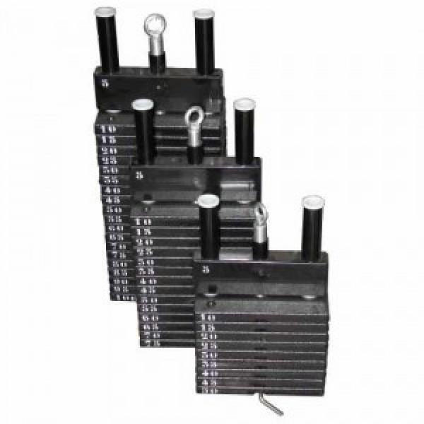 Gero Fitness Extra Gewichtenblok t.b.v. LegPress 150kg steekgewicht (per 10kg)