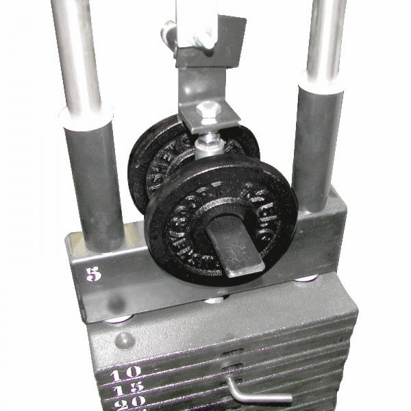 Gero Fitness Topblokbeugel incl. 2x 0,5kg 2x 1,25kg voor Legpress