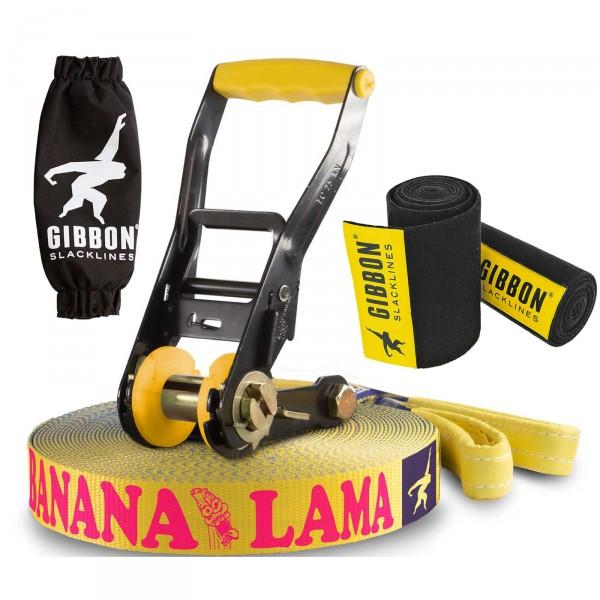 Slackline Gibbon Banana Lama Treewear Set