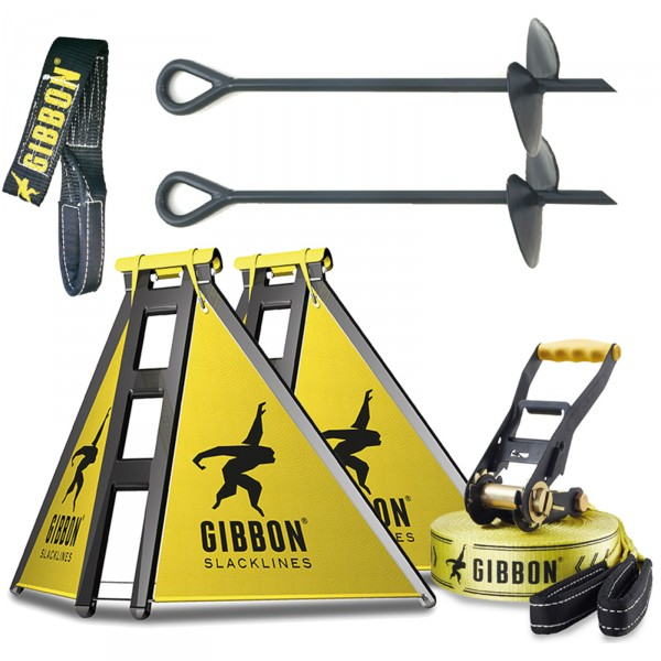 Gibbon Slackline Independence kit Classic