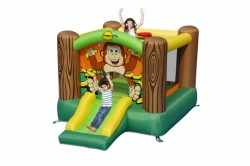 HappyHop bouncy castle Monkey house Cheeta