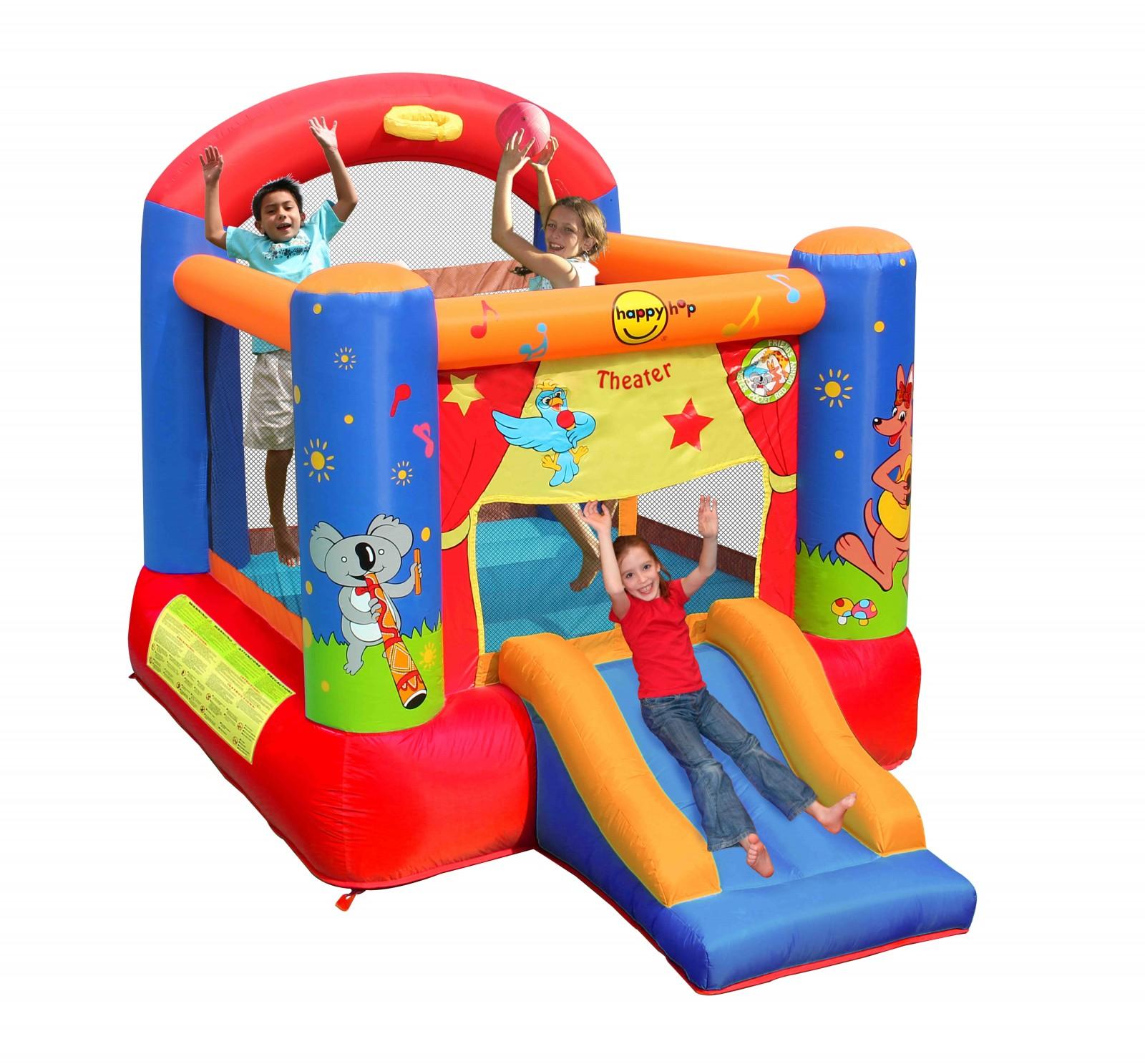 Happyhop bouncy castle theatre blinky bill acheter bon prix chez fitshop - Acheter chateau gonflable ...