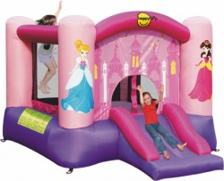 HappyHop bouncing castle princess purchase online now