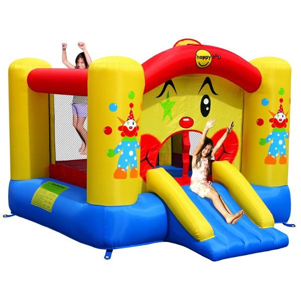Zamek dmuchany ze zjeżdżalnią HappyHop Clown