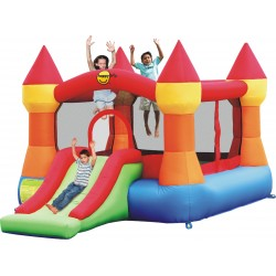 HappyHop bouncy castle Schloss