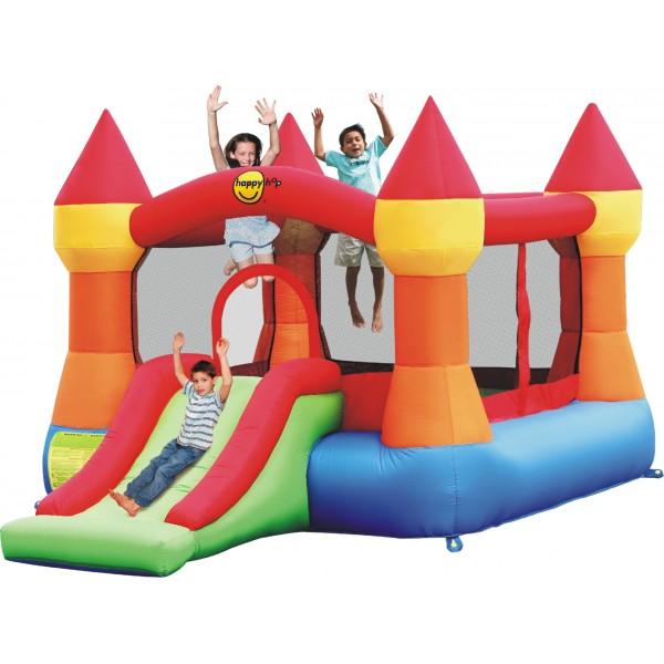 Happyhop bouncy castle schloss acheter bon prix chez fitshop - Acheter chateau gonflable ...