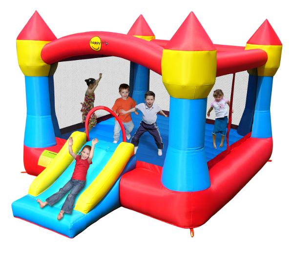 Happyhop jeu gonflable ch teau xl acheter bon prix chez t fitness - Acheter chateau gonflable ...
