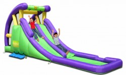 HappyHop water slide Twin with pool purchase online now
