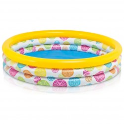 Intex Pool 3-Ring Cool Dots 147x33