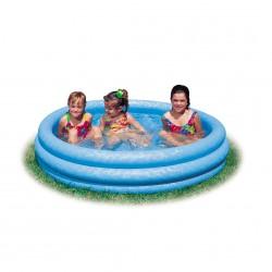 Intex Pool 3-Ring Crystalblue