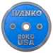 Disque de musculation Ivanko en chrome 50 mm Detailbild