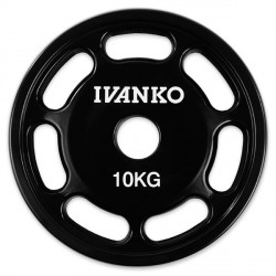 Ivanko 50mm Polyurethane Weight Plate Detailbild