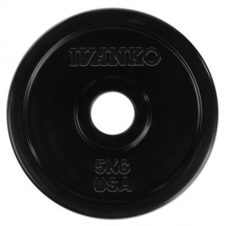 Ivanko 50mm Rubber Weight Plate Detailbild