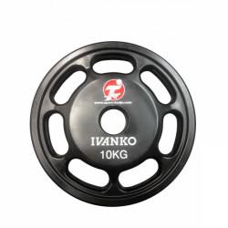 Ivanko Urethane 50mm Plate ST LOGO 10kg