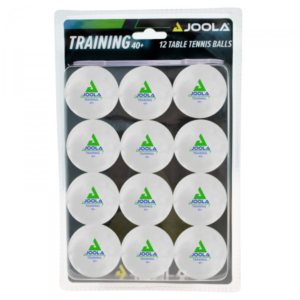 Joola bordtennisbolde Training, 12stk.  Blister