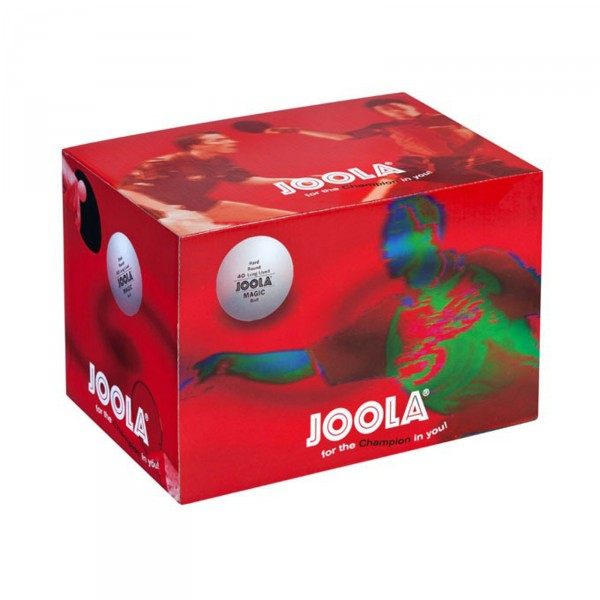 Joola Table Tennis Ball Magic Ball 72 box, white