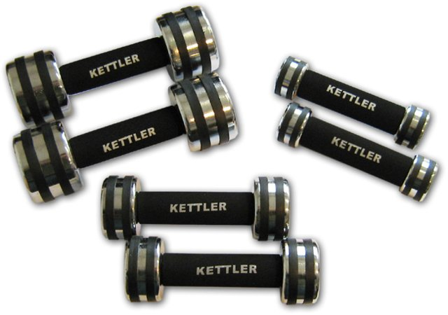 Kettler krom-håndvægte